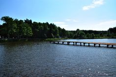 Hotel Grand Chotowa - < a small footbridge, at which you can stop and get out of the canoe Little Cottages, Trout, Canoe, Canning, Beach, Nature, Naturaleza, The Beach, Small Cottage Homes