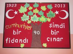 Cumhuriyet Bayramı panolarımızdan biri Art For Kids, Crafts For Kids, Arts And Crafts, Preschool Education, Art Education, Turkey Holidays, National Holidays, Child Day, Art School