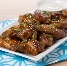 Try this delicious Asian Sesame Chicken Wings recipe today!