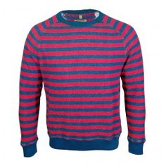 This Made and Crafted Levis Crew Sweatshirt is part of the new spring/summer collection. This Levis garment s a great piece to add a bit of a colour to your wardrobe with its unique vintage look. This regular fit sweatshirt features long sleeves, block colour cuffs, crew neck and finished with indigo and red striped detail. £90