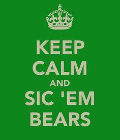 Baylor!  Heyyyy, Sic 'em Bears!
