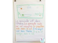 """Primary French Immersion Resources - Using """"sticker stories"""" in the classroom! Such a fun activity to get students engaged in writing :) French Teacher, Teaching French, Teaching Writing, In Writing, Spanish Teaching Resources, Teaching Materials, Sentence Writing, Writing Sentences, Grade 2 Science"""
