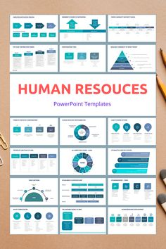 Human Resources HR PowerPoint Slide Templates - creative design business presentation templates in PowerPoint. Ready template, easy to edit. #HumanResources #HR #PowerPoint #Design #Creative #Presentation #Slide #Infographic #Template Presentation Example, Business Presentation Templates, Presentation Design, Presentation Slides, Powerpoint Slide Templates, Powerpoint Tips, Keynote Template, Data Visualization Techniques, Business Letter Format