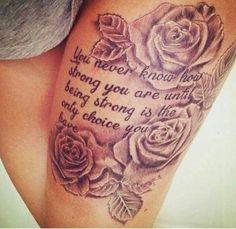 Trendy leg tattoos ideas women Sleeve Tattoos Coolthightattooswomen Buzfrcom 22 Cool Tattoo Ideas For Women In 2019 Beautiful Tattoos For Women Neue Tattoos, Body Art Tattoos, Sleeve Tattoos, Thigh Tattoo Designs, Tattoo Designs For Women, Tatoo Art, Diy Tattoo, Tattoo Ideas, Tattoo Baby