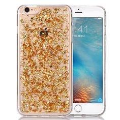 Luxury Gold Glitter Case For Your iPhone. High Quality Easy to Clean