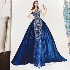 Amazing fashion illustrations