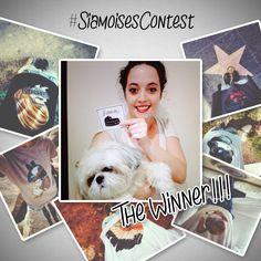 Ecco la nostra vincitrice! Per lei maglia e felpa #siamoises! ★★★BRAVISSIMA!!★★★