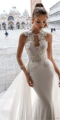 Sweetheart Lace Wedding Dresses (58)