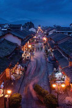 Weishan Street (Dali, Yunnan, China)