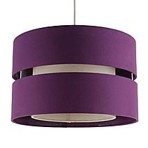 Crafted from quality cotton, this circular pendant shade features a cut-out design and a textured finish. Suitable for use as either a pendant or a table lamp shade. Floor Lamp Shades, Table Lamp Shades, Large Pendant Lighting, Cut Out Design, Light Shades, Soft Furnishings, Light Decorations, A Table, Ceiling Lights