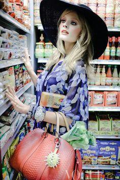 Constance Jabionski for Vogue