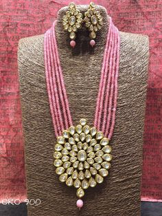 Kundan and bead set