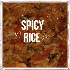 #spicy #rice #glutenfree #dairyfree #multiplesclerosis #ms #diet