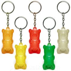 GUMMY BEAR KEYCHAIN