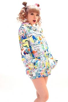 8words wall paint hoodie - galaxxxy│ギャラクシー公式通販│galaxxxy official online shop