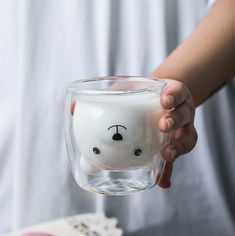 Products – Page 5 Animal Mugs, Heat Resistant Glass, Kawaii Room, Cute Cups, Cute Kitchen, 3d Prints, Glass Material, Cat Gifts, Tea Mugs