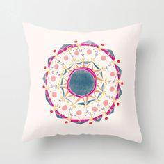 Wild Forest Mandala Pillow