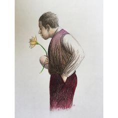 'A Humble Offering' #flower #daffodil #supracolour #drawing #pencil #sketch #sketchaday #illustration #drawingoftheday #image #drawn #sketchbook #doodle #art #artwork #artist #artshow #artgallery #newartwork #fineart #myart #artnews #artinfo #creative #color #colour #arte #artwork #carandache