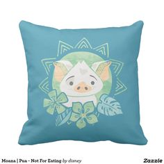 Moana | Pua - Not For Eating. Regalos, Gifts. #cojín #pillow