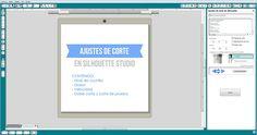 Tutorial Ajustes de Corte en Silhouette Studio: Cuchilla, grosor y velocidad (Español)