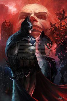 Arkham Knight by stevegoad on DeviantArt Batman And Catwoman, Im Batman, Batman Arkham, Joker, Batman Artwork, Batman Comic Art, Batman Wallpaper, Bob Kane, Marvel Dc