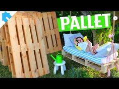 5 IDEIAS COM PALLET PARA CRIANÇAS | Dia das Crianças #2 - YouTube