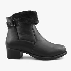 Women's Winter Booties Paris in Leather Black – Comfy Moda Office Outfits Women, Stylish Boots, Shoe Box, Looking For Women, Winter Boots, Vegan Leather, Ankle Boots, Booty, Paris