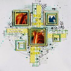 #papercraft #scrapbook #layout. Go wild - Terhi Koskinen http://creativeembellishments.com/blog/?p=4116