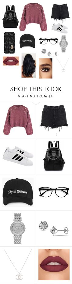 """Undercover Rich Berd"" by kendall-01 ❤ liked on Polyvore featuring Alexander Wang, adidas, OtterBox, EyeBuyDirect.com and Michael Kors"