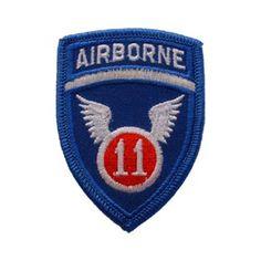 PARCHE 11th AIRBORNE