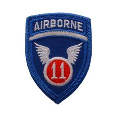 PARCHE 11th AIRBORNE