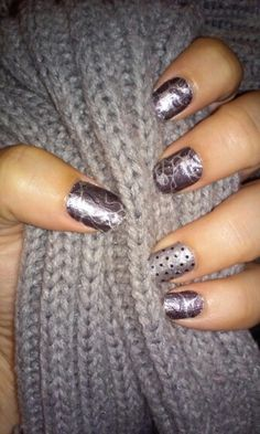 Just love my #jams!! Moonglass and Veiled! ! Order yours at http://chivonmarie.jamberrynails.net