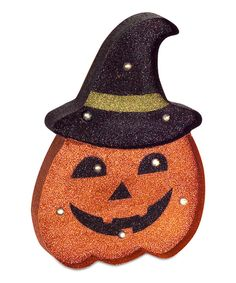 Look at this LED Jack-O-Lanterns Set on #zulily today!