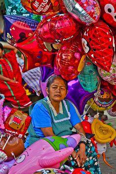 Street Seller Oaxaca, Mexico