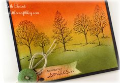 My little craft blog: Stamp Review Crew Blog Hop - Lovely as a tree