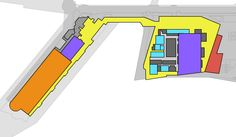 iMap's Interactive Floor Plan solution for the Vancouver Convention Center - Interior floor level.