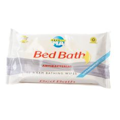 Aquamed Antibacterial Bed Bath Wipes - Pack of 10 - MA79084