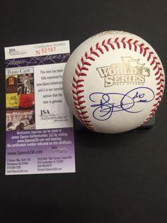 RYAN DEMPSTER signed ROMLB Baseball 2013 World Series Boston Red Sox PROOF JSA