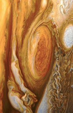 Astronomy Jupiter close up - credit: NASA - The Great Red Spot of Jupiter. Actually a storm that's been raging for over 300 years, it's three times the size of the entire Earth. Cosmos, Great Red Spot, Eclipse Solar, Space And Astronomy, Hubble Space, Space Telescope, Space Photos, Sistema Solar, To Infinity And Beyond