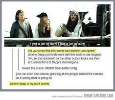 Johnny Depp is a great…