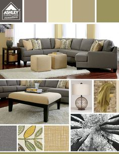 My Couch Love The Grays With Greens Light Yellows