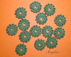 Polymer clay flowers 487