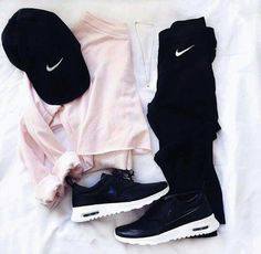 Ideas For Fitness Fashion Leggings Athletic Wear Teenage Outfits, Teen Fashion Outfits, Nike Outfits, Outfits For Teens, Sport Outfits, Trendy Outfits, Fall Outfits, Summer Outfits, Cute Everyday Outfits
