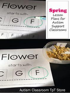 Spring Lesson Plan Printables #auitsm #lesson #plans