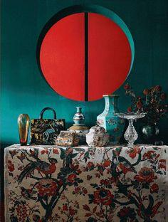 Oriental Chinese Interior Design Asian Inspired Living Room Home Decor Interactchina Furnishings See More Eintauchen In Eine