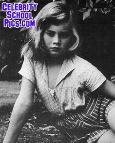 Olivia Newton-John - Celebrity School Pic