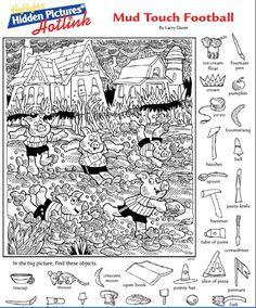 Highlights Hidden Pictures Bumper Crop 013114 Details Rainbow