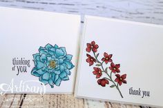 Peaceful Petals is perfect for coloring with Stampin' Blendabilities.