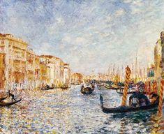 Pierre-Auguste Renoir - Renoir / Canal Grande in Venice / 1881