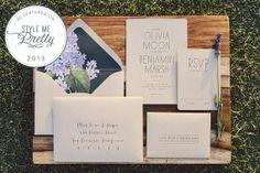 LOVE oakandorchid's handmade invites!! Kraft Wedding Invitation by oakandorchid on Etsy, $8.75
